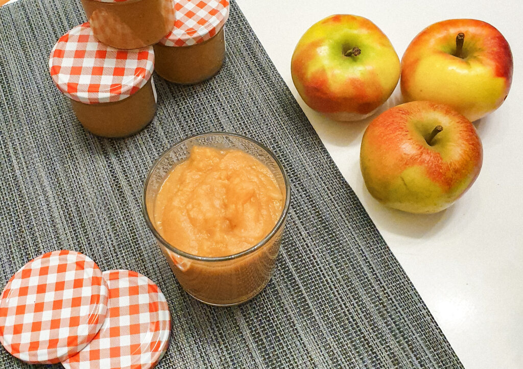 Apfelmus ohne Zuckerzusatz