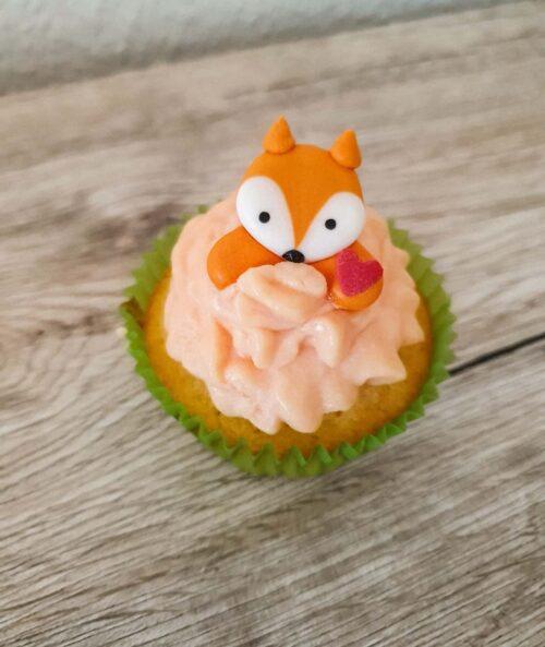 Zitronen- Cupcakes mit Creamcheese- Frosting