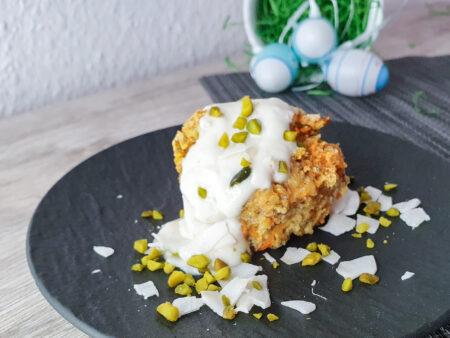 vegane Möhren- Kokos- Muffins