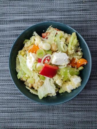 knackiger Couscous- Salat