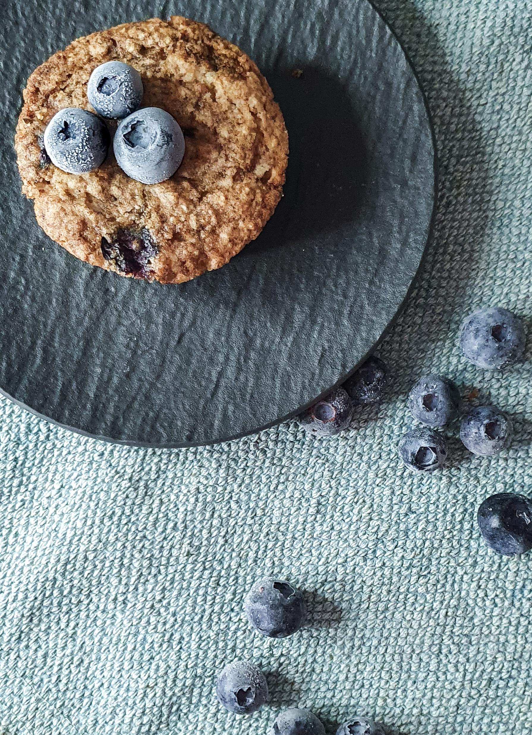 Blueberry Muffins - vegan & glutenfrei