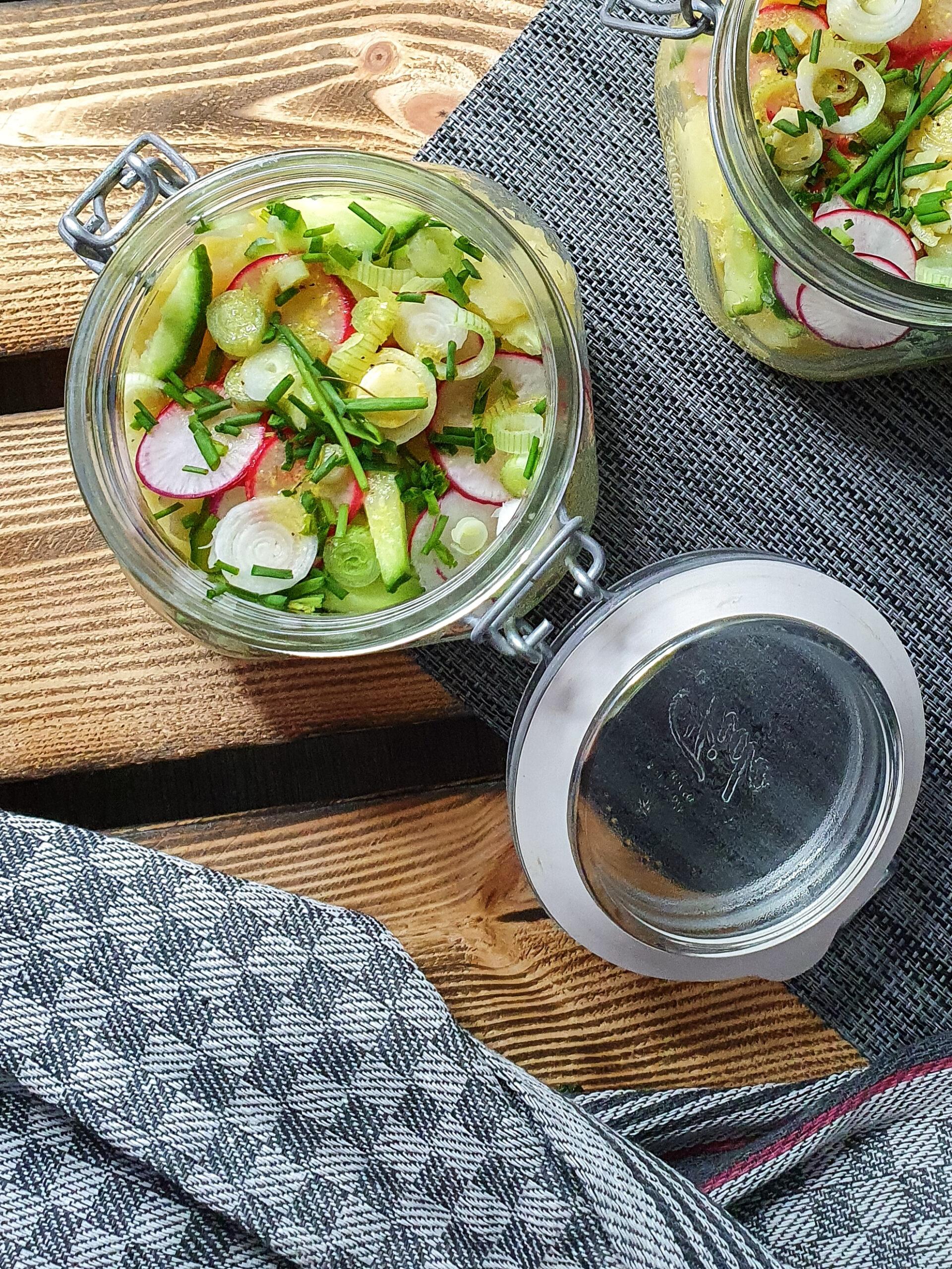 Schwäbischer Kartoffelsalat - Vegan